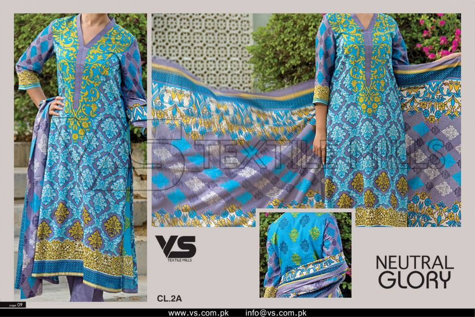 VS Textile Mills Vadiwala Lawn Embroidered Chiffon Collection 2015 (20)