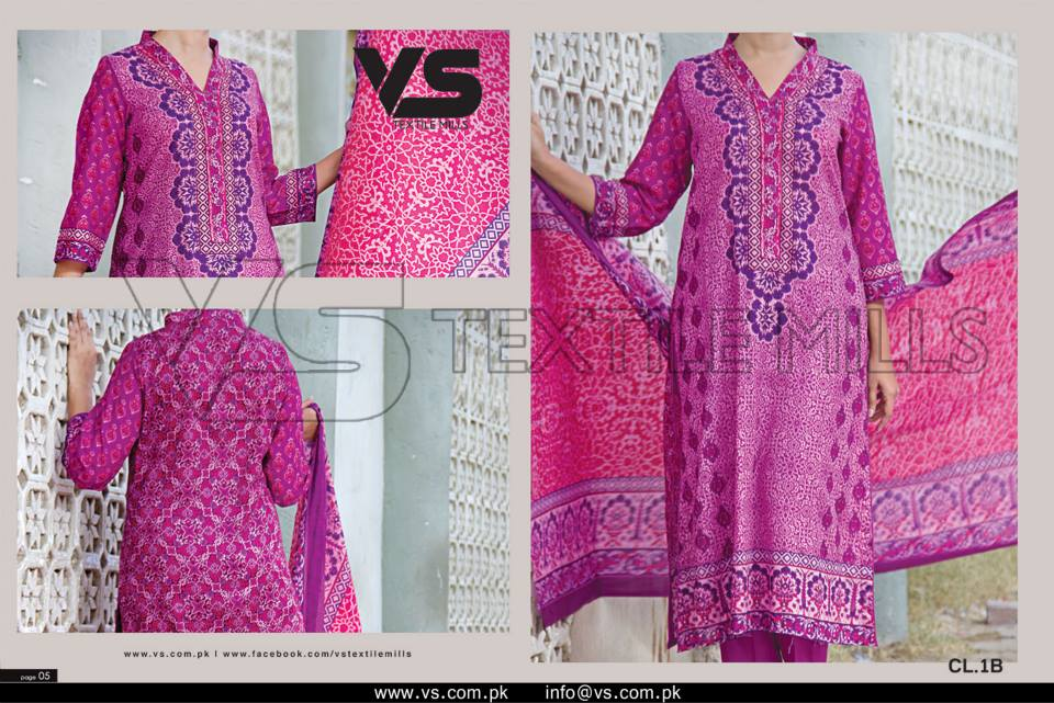 VS Textile Mills Vadiwala Lawn Embroidered Chiffon Collection 2015 (35)