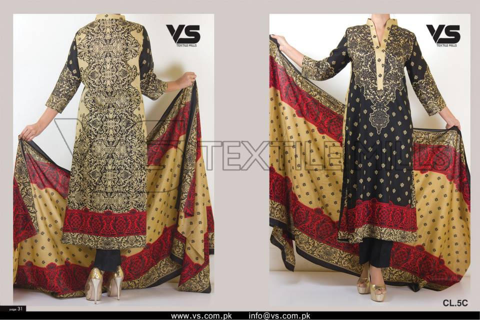 VS Textile Mills Vadiwala Lawn Embroidered Chiffon Collection 2015 (36)