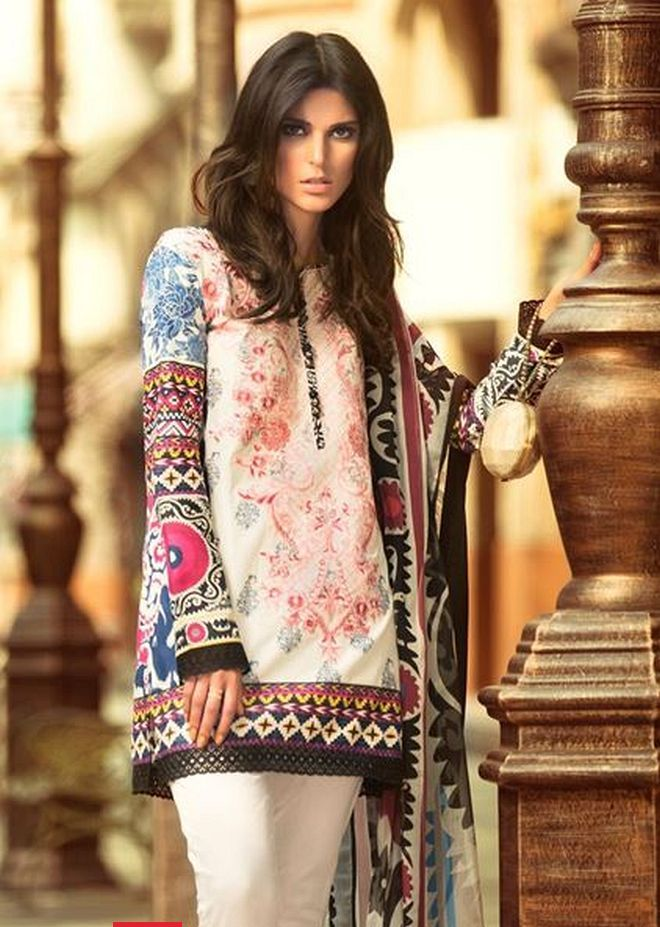 latest pakistani fashion 201819 medium shirts with
