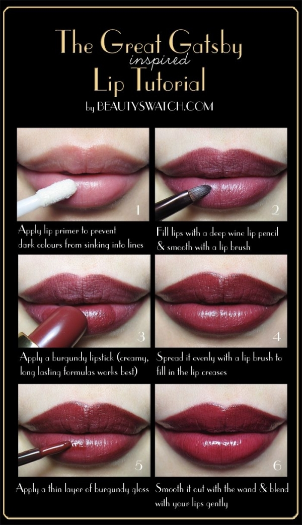 How To Apply Lipstick Step By Step Tutorial