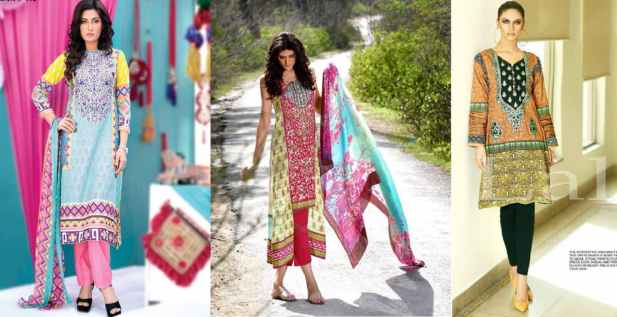 Latest Fashion In Pakistan 2016 17 Medium Shirts With Cigarette Pants