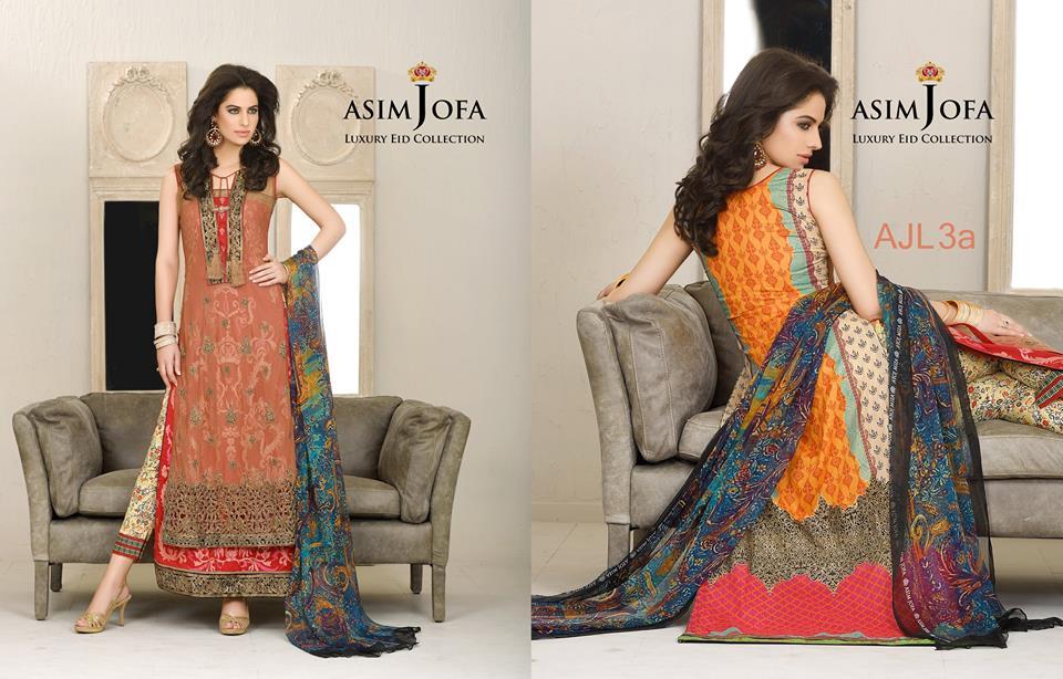 Asim Jofa Luxury Eid Dresses Collection 2015-2016 (1)