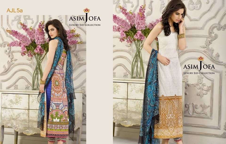 Asim Jofa Luxury Eid Dresses Collection 2015-2016 (11)