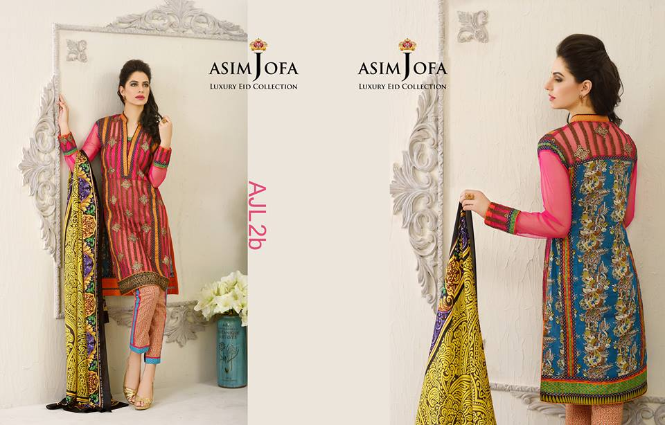 Asim Jofa Luxury Eid Dresses Collection 2015-2016 (13)
