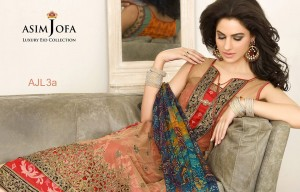 Asim Jofa Luxury Eid Dresses Collection 2015 Catalog