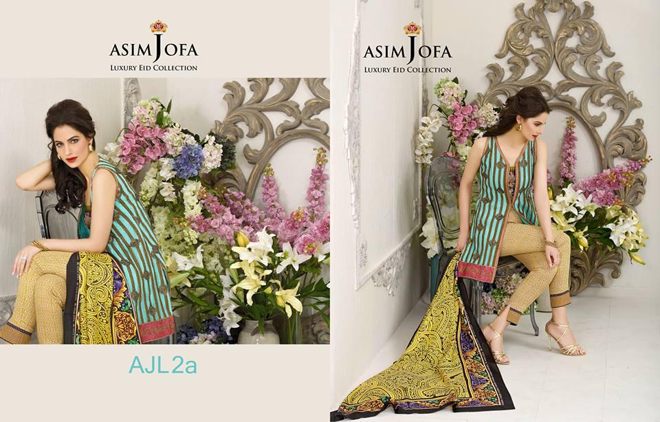 Asim Jofa Luxury Eid Dresses Collection 2015-2016 (2)