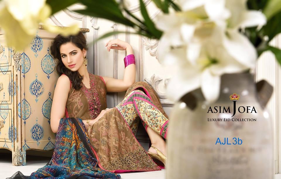 Asim Jofa Luxury Eid Dresses Collection 2015