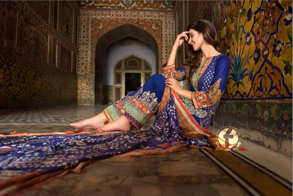 Firdous Lawn Eid Fancy Embroidered Dresses Collection 2016-2017 (1)