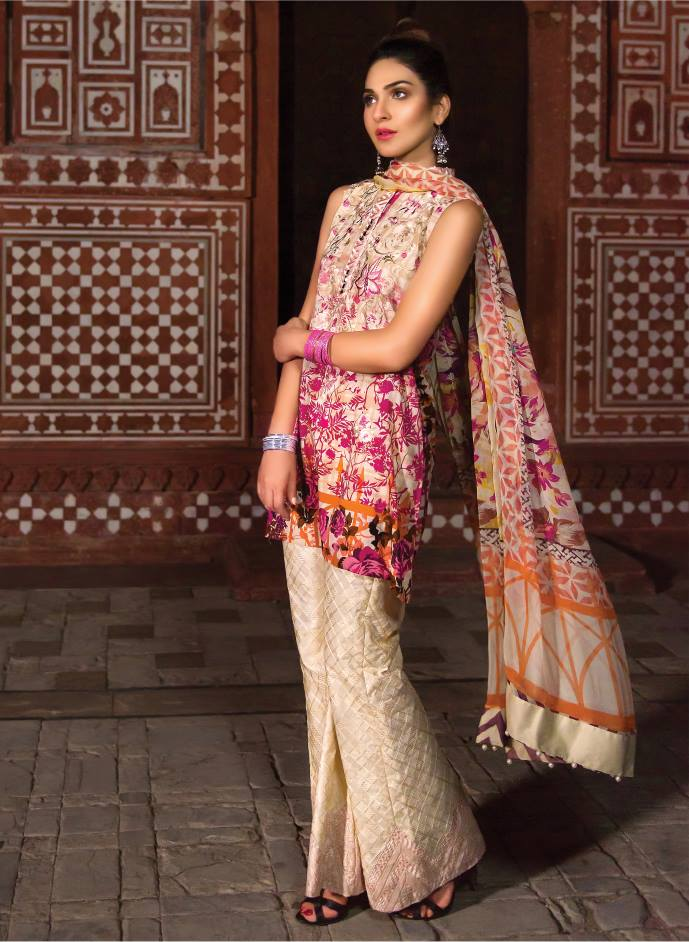 Firdous Lawn Eid Fancy Embroidered Dresses Collection 2016-2017  (18)