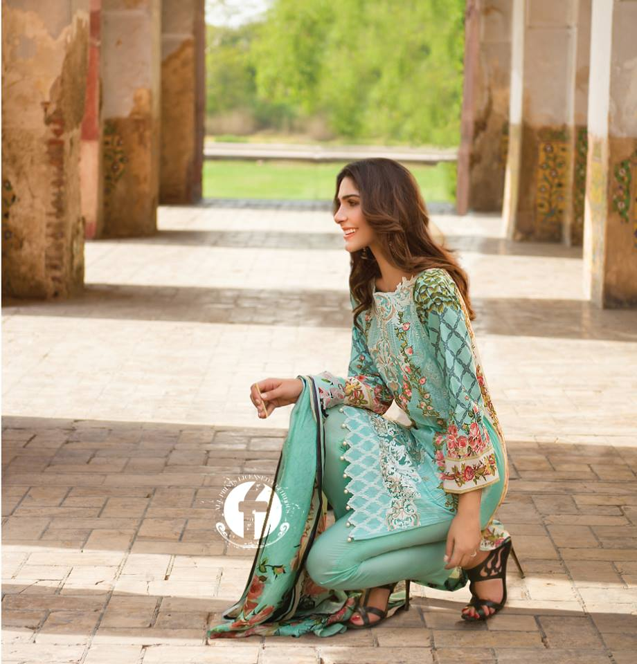 Firdous Lawn Eid Fancy Embroidered Dresses Collection 2016-2017 (24)