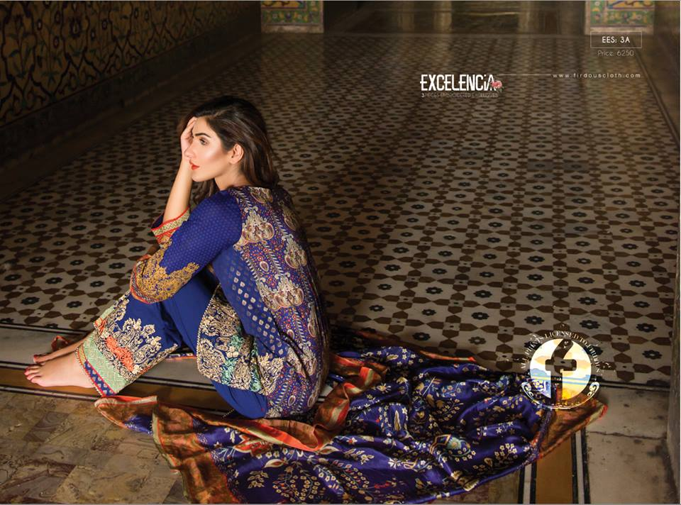 Firdous Lawn Eid Fancy Embroidered Dresses Collection 2016-2017  (29)