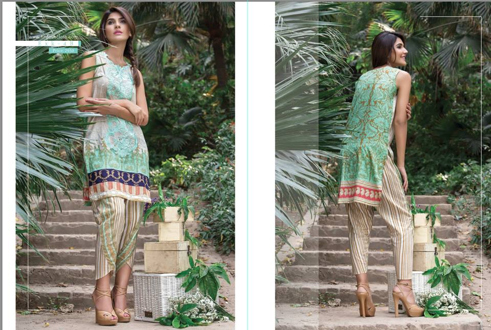 Firdous Lawn Eid Fancy Embroidered Dresses Collection 2016-2017  (4)