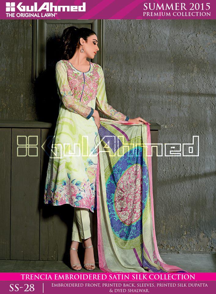 0069058f62 Gul Ahmed Silk Chiffon Dresses Formal Festive Eid Collection 2015-2016 (9)
