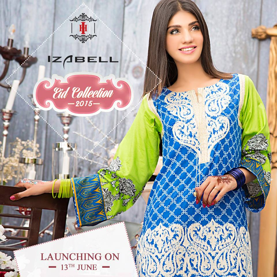 House of Ittehad Izbell Eid Dresses Collection 2015-2016 (1)