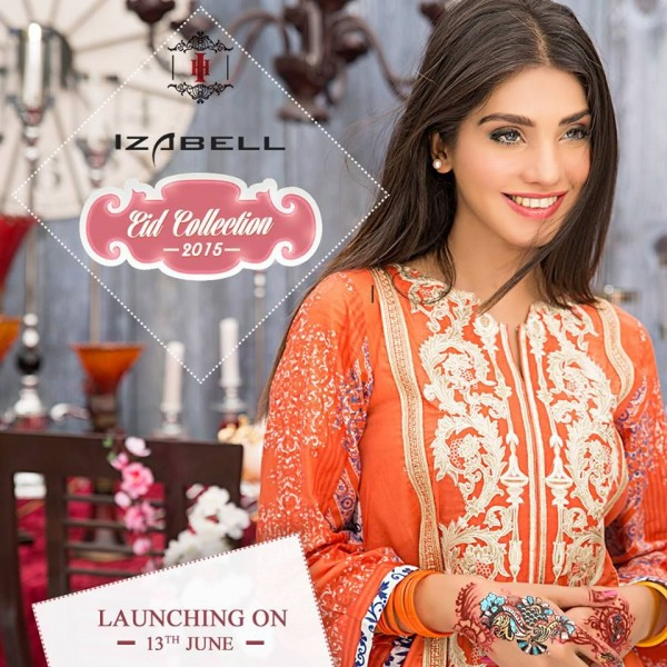 House of Ittehad Izbell Eid Dresses Collection 2015-2016 (10)