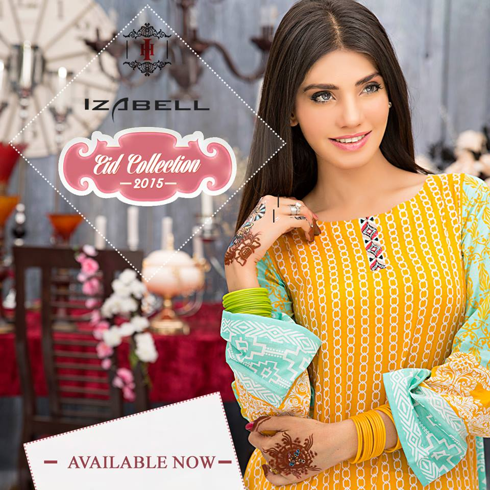 House of Ittehad Izbell Eid Dresses Collection 2015-2016 (17)