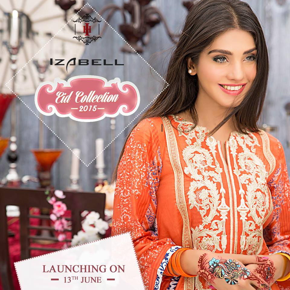 House of Ittehad Izbell Eid Dresses Collection 2015-2016 (18)