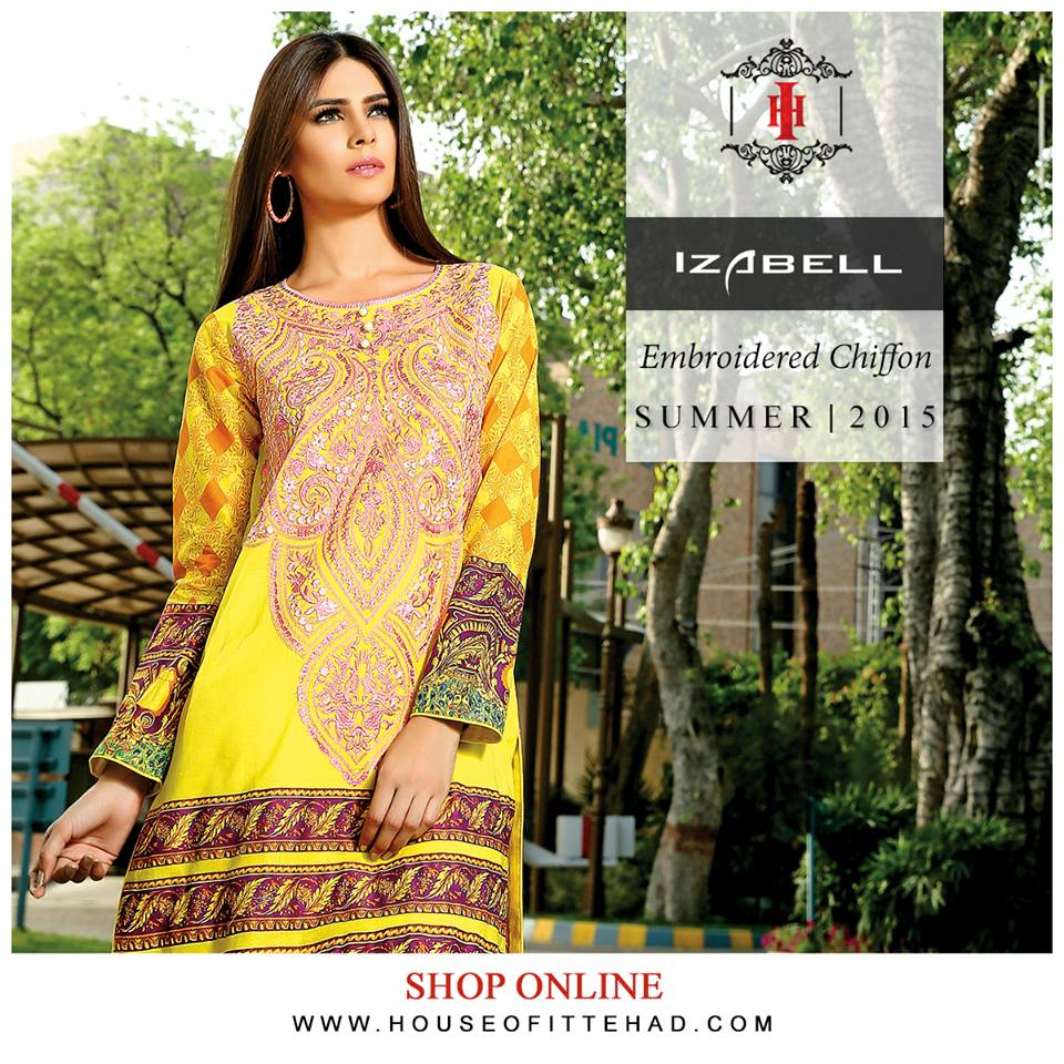 House of Ittehad Izbell Eid Dresses Collection 2015-2016 (19)