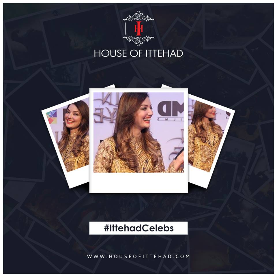 House of Ittehad Izbell Eid Dresses Collection 2015-2016 (2)