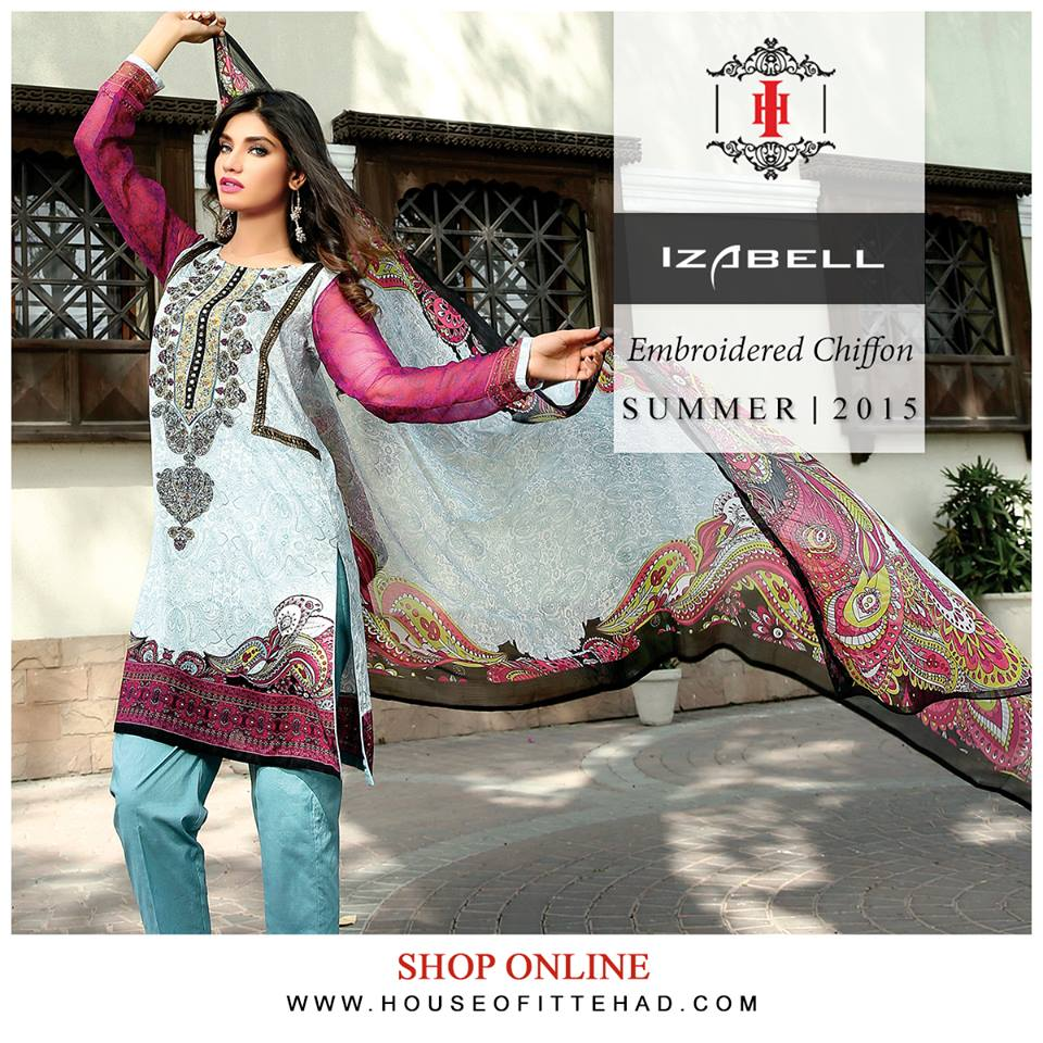 House of Ittehad Izbell Eid Dresses Collection 2015-2016 (20)