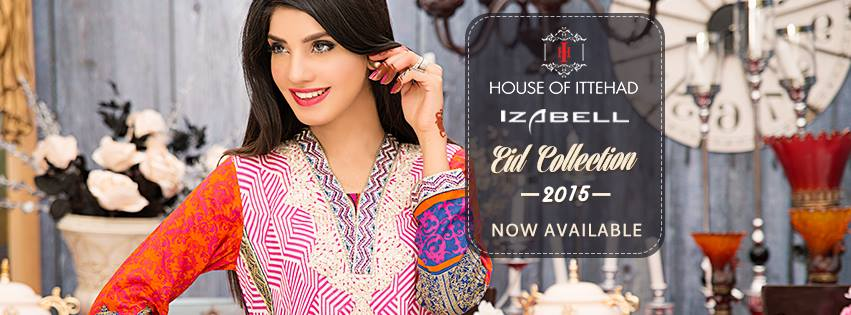 House of Ittehad Izbell Eid Dresses Collection 2015-2016 (21)
