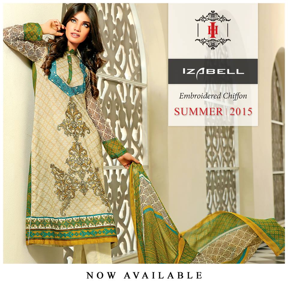 House of Ittehad Izbell Eid Dresses Collection 2015-2016 (22)