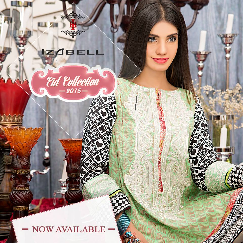 House of Ittehad Izbell Eid Dresses Collection 2015-2016 (24)