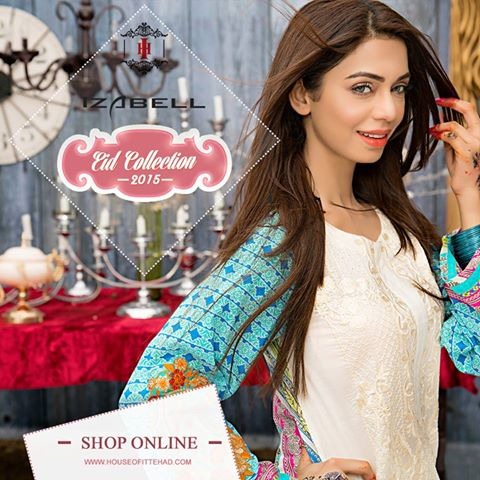 House of Ittehad Izbell Eid Dresses Collection 2015-2016 (29)