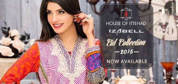 House of Ittehad Izbell Eid Dresses Collection 2015-2016 (8)