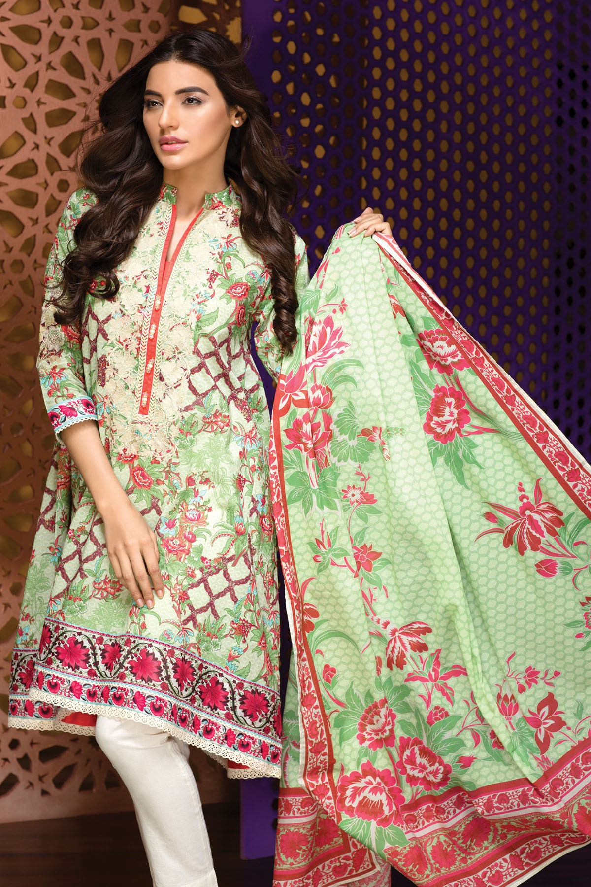 Latest eid formal dresses by zainab hasan collection