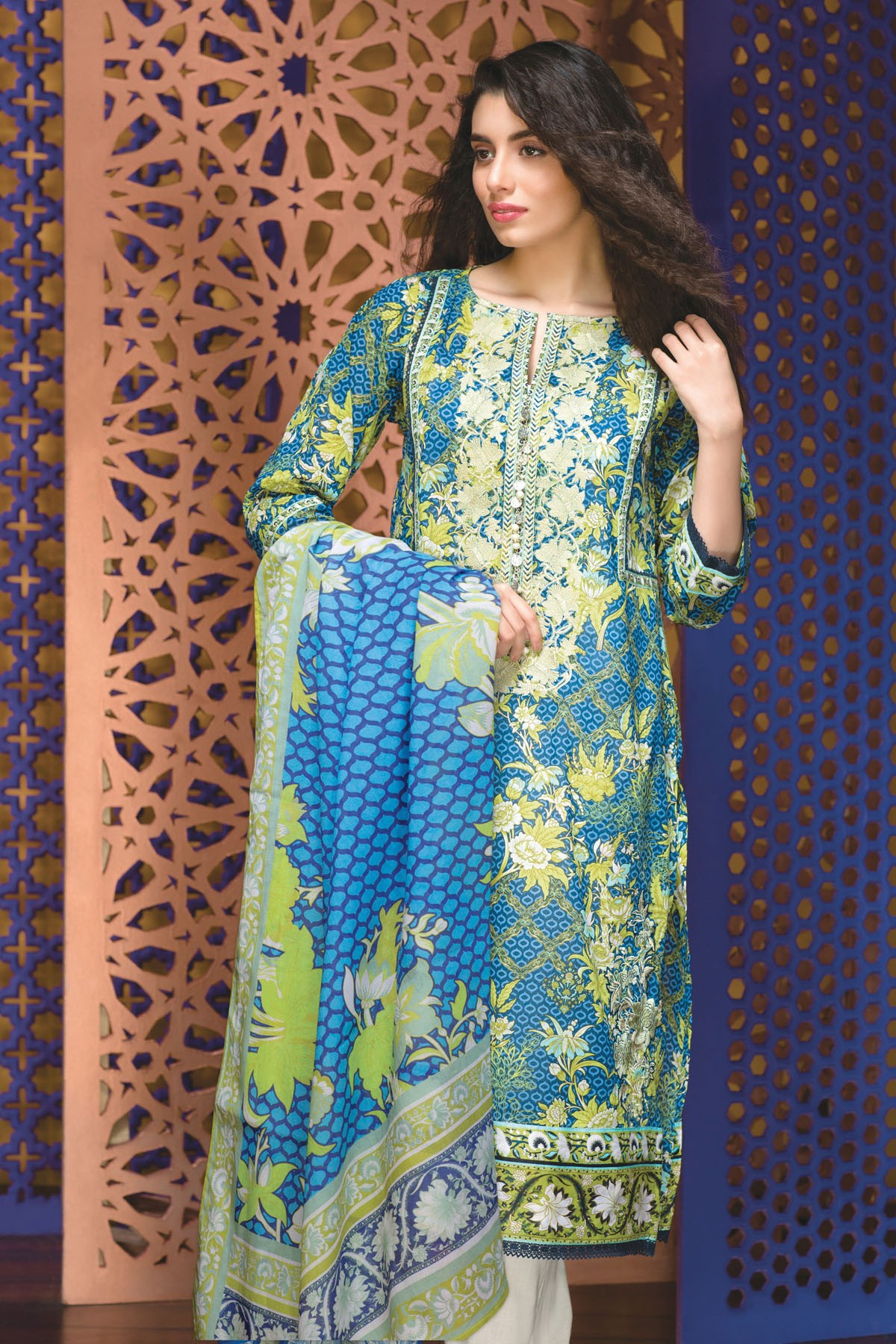 Khaadi Lawn & Chiffon Eid Dresses Collection 2016-2017