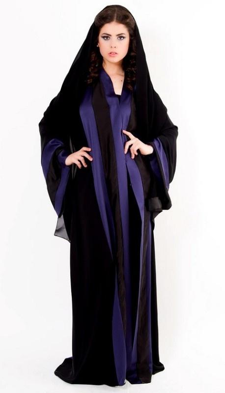 Latest Dubai Designer Abaya Gowns Designs Collection 2015-2016 (12)