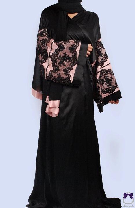 Latest Dubai Designer Abaya Gowns Designs Collection 2015-2016 (14)