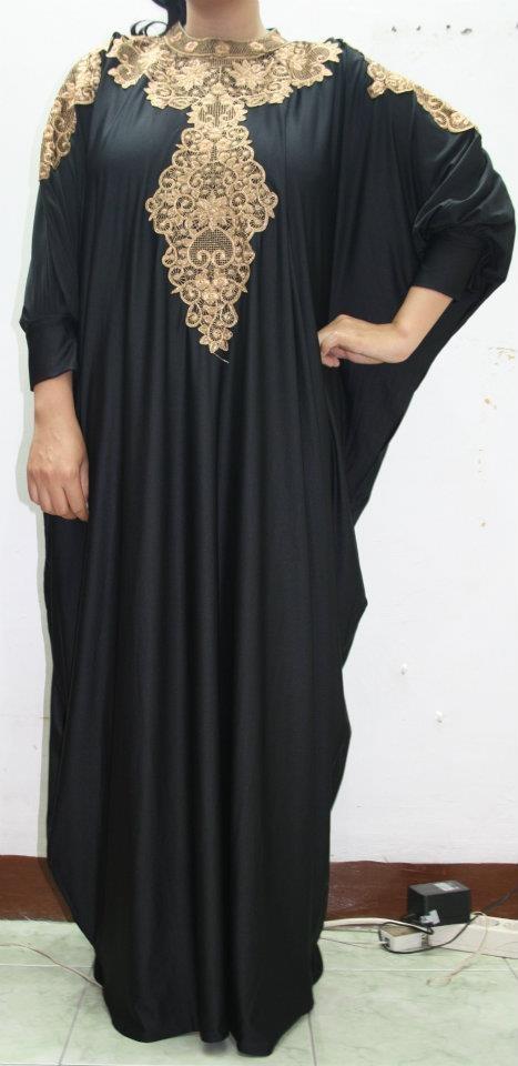 Latest Dubai Designer Abaya Gowns Designs Collection 2015-2016 (15)
