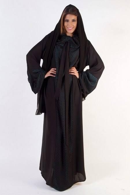 Latest Dubai Designer Abaya Gowns Designs Collection 2015-2016 (21)
