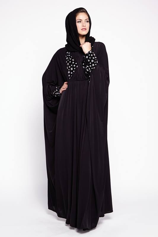 Latest Dubai Designer Abaya Gowns Designs Collection 2015-2016 (22)