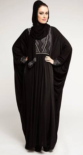 Latest Dubai Designer Abaya Gowns Designs Collection 2015-2016 (3)