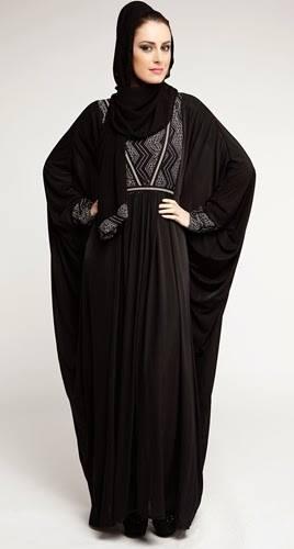 Latest Dubai Designer Abaya Gowns Designs Collection 2015-2016 (3)