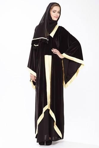 Latest Dubai Designer Abaya Gowns Designs Collection 2015-2016 (4)
