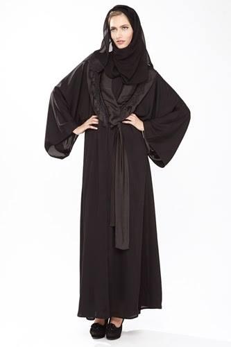 Latest Dubai Designer Abaya Gowns Designs Collection 2015-2016 (8)