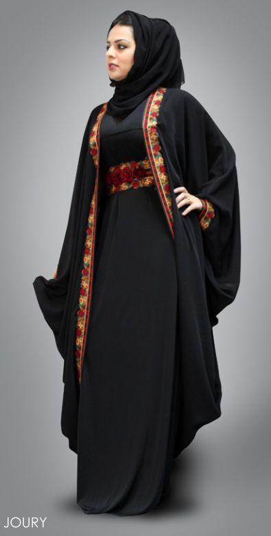 Latest Dubai Designer Abaya Gowns Designs Collection 2015-2016 (9)
