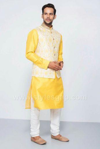 latest men mehndi dresses kurta shalwar kameez designs 201718