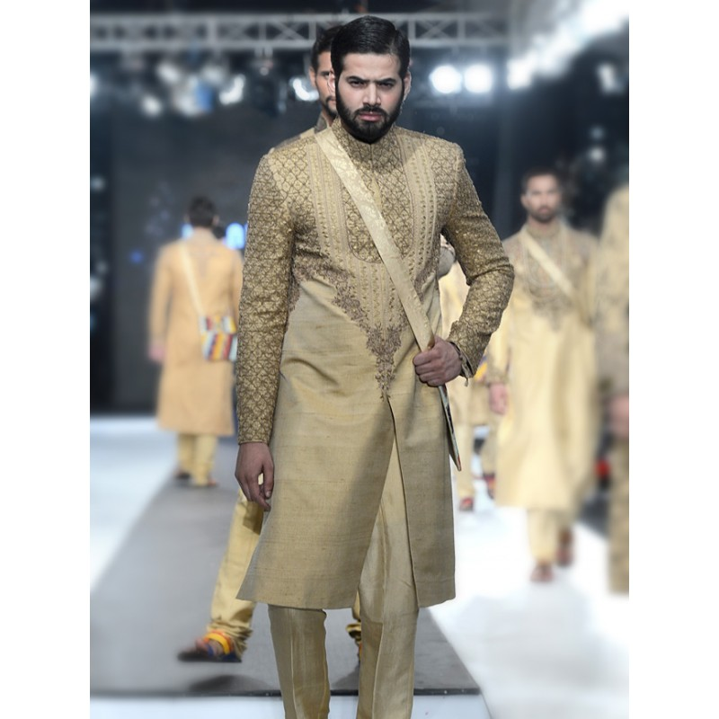Latest Men Wedding Dresses Sherwani Designs HSY- Hassan Shehyar Yasin Collection 2015-2016 (10)
