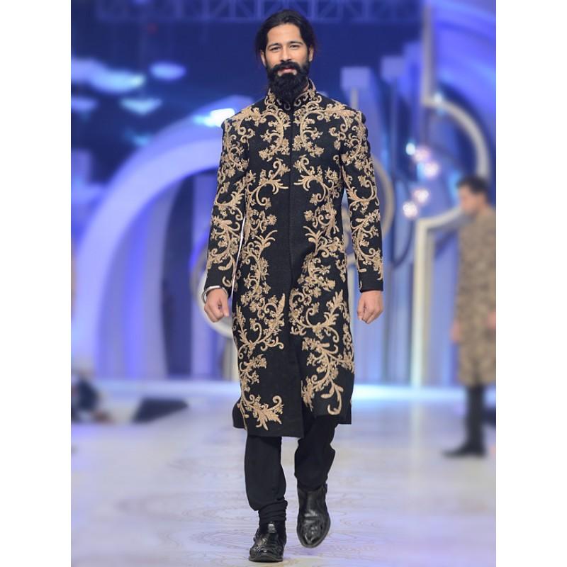 Men In Wedding Gowns: HSY Latest Men Wedding Sherwani Kurtas Collection 2018-2019