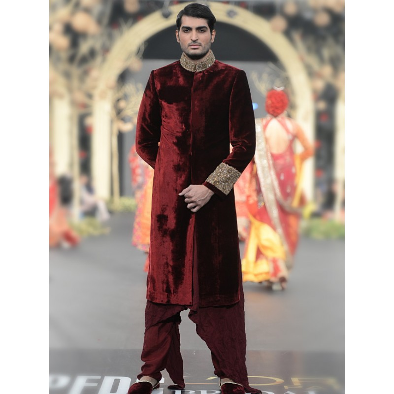 Latest Men Wedding Dresses Collection 2016-2017 by HSY