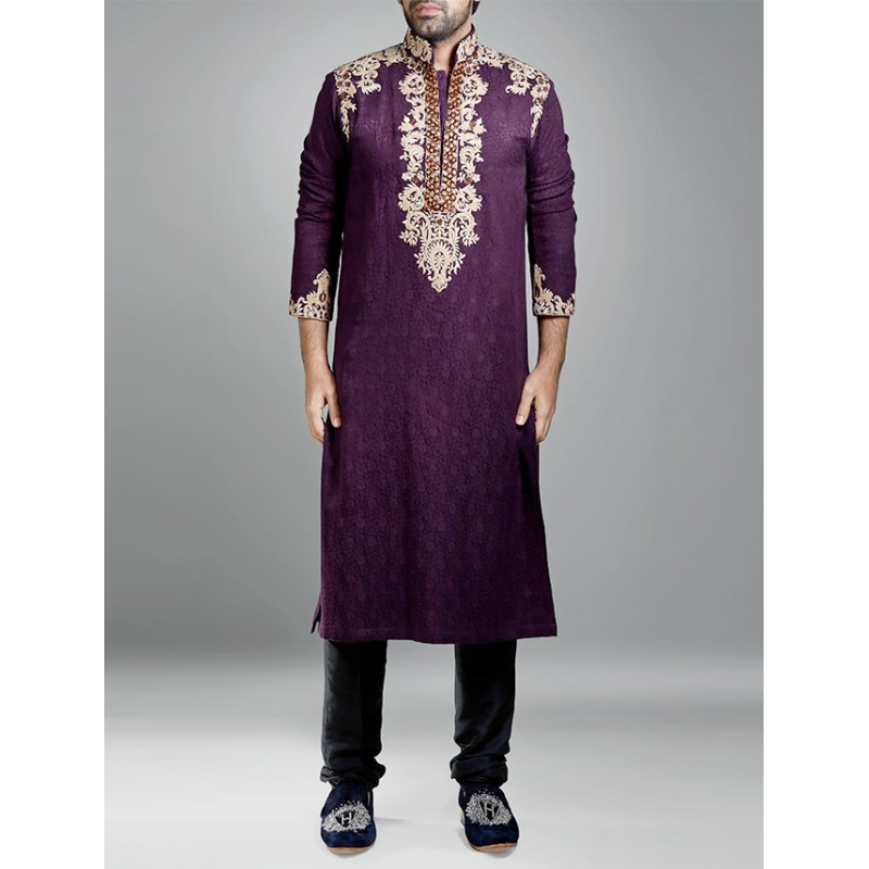 Latest Men Wedding Dresses Sherwani Designs HSY- Hassan Shehyar Yasin Collection 2015-2016 (22)