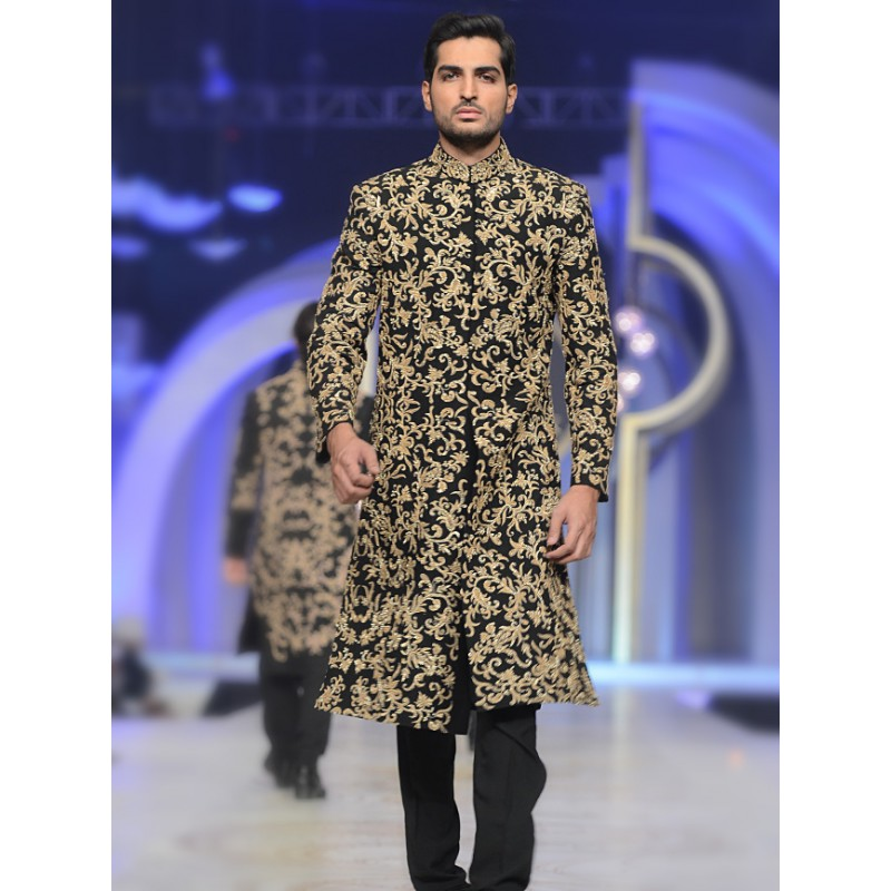 Latest Men Wedding Dresses Sherwani Designs HSY- Hassan Shehyar Yasin Collection 2015-2016 (3)