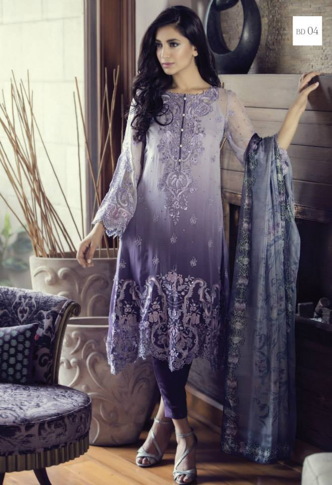 Maria B Eid Mbroidered Amp Luxury Lawn Collection 2015 2016