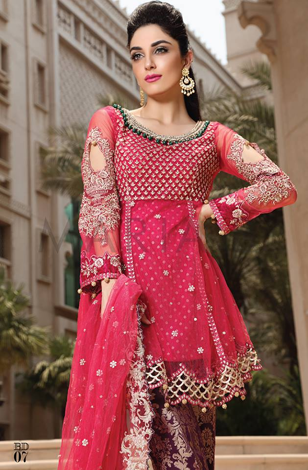 63a3dab078 Maria B Mbroidered Eid Collection 2016- Best Women Dresses (15 ...